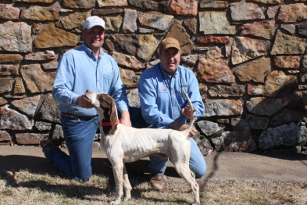 2012 Champion Covey Rises Oflee Amazin with handler Shawn Kinkelaar and scout Eddy Taylor