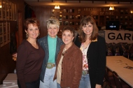 Connie Crowell, Rita Ornsby, Jill Smith, Joyce Taylor