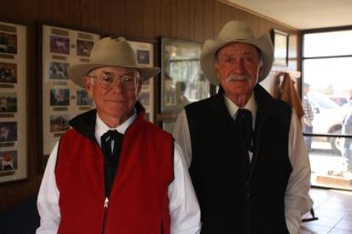 Judges Tom Milam and Jack Herriage