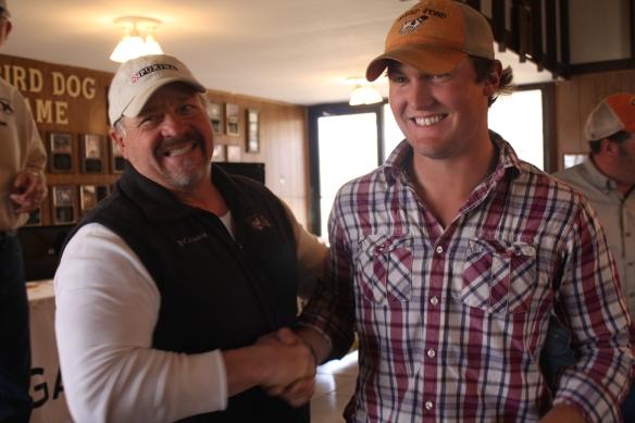 Rex Garner and Bill Kerr